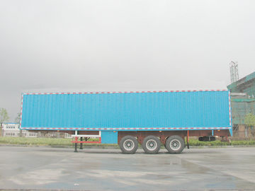 Çin High Strength Steel Van Semi Trailer   Tedarikçi