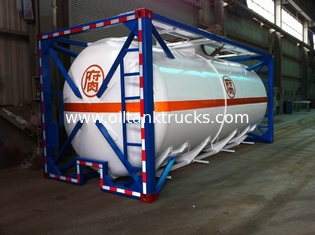 Çin Liquid Tank Container 48000L ISO International Shipping 40ft Tedarikçi