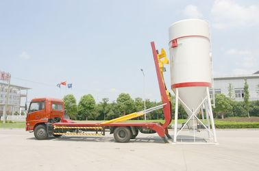 Çin Dong Feng 6x4 Dry Bulk Truck Hydraulic For Dry-Mixed Mortar 22 Cbm Distribütör